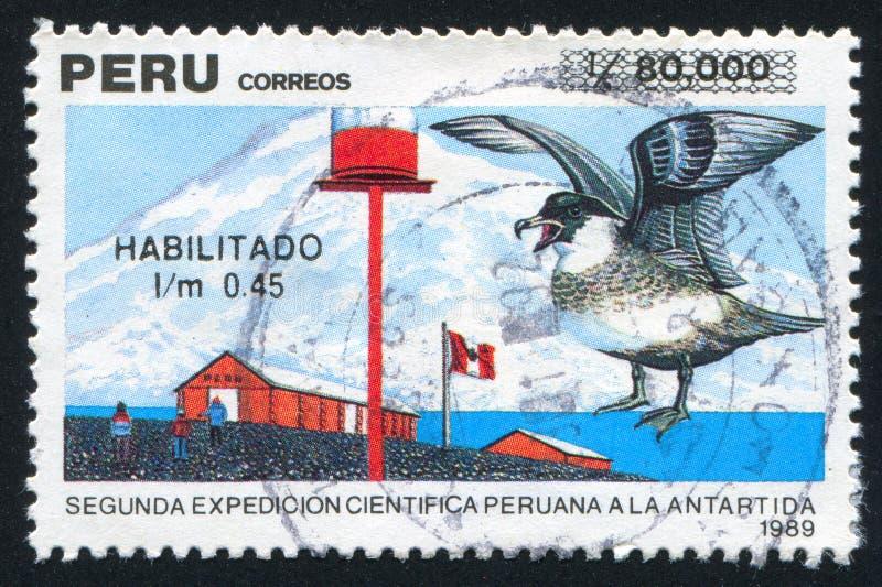 Segunda expedição científica peruana à Antártica foto de stock