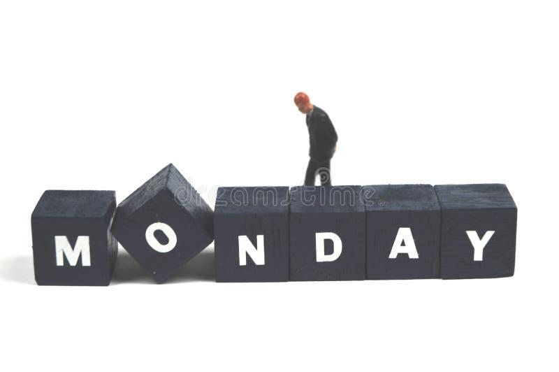 Segunda-feira fotografia de stock