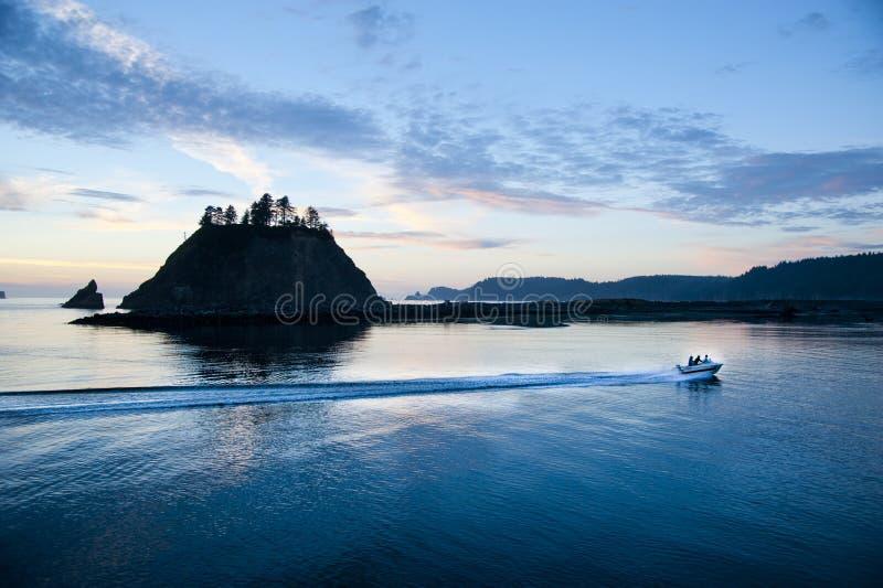 Segunda praia no parque nacional olímpico imagem de stock royalty free