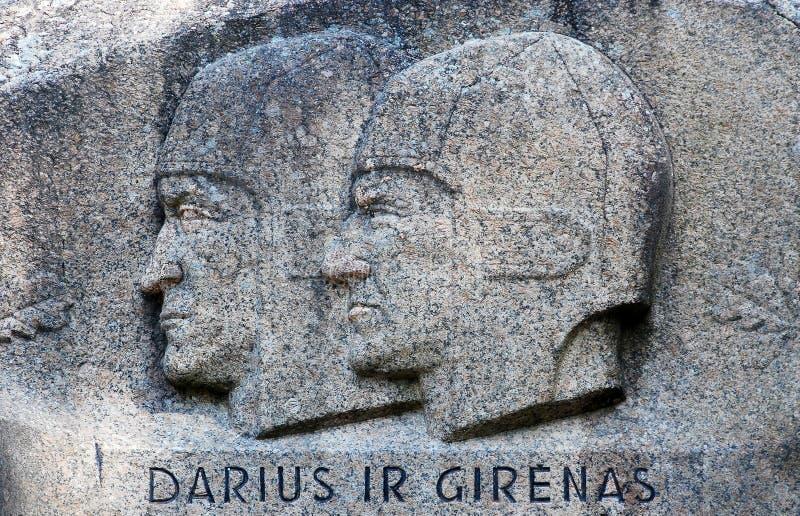 Segundo mayor roca en el distrito de Anyksciai de Lituania Puntukas imagenes de archivo