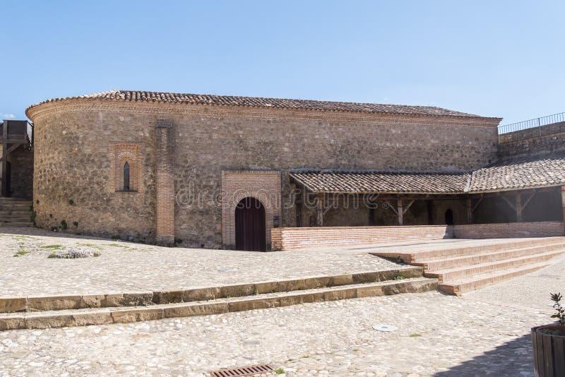 Segura de la Sierra castle, Cazorla and Segura sierra, Jaen, Spa. In stock photo