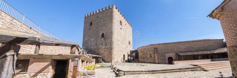 Segura de la Sierra castle, Cazorla and Segura sierra, Jaen, Spa. In royalty free stock photo