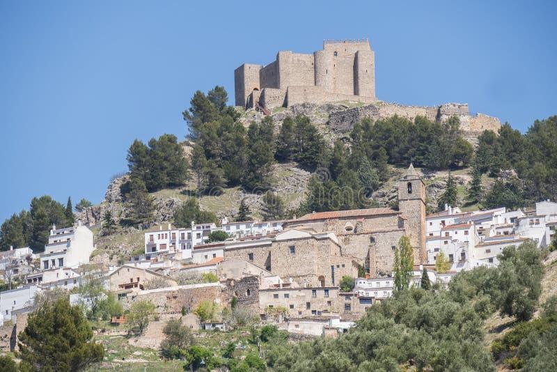 Segura de la Sierra, Jaen, Spain.  royalty free stock image