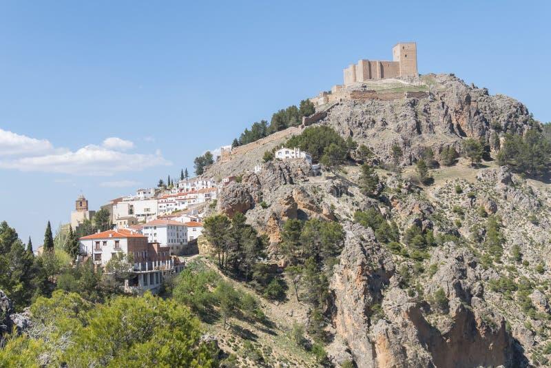 Segura de la Sierra, Jaen, Spain.  royalty free stock photo