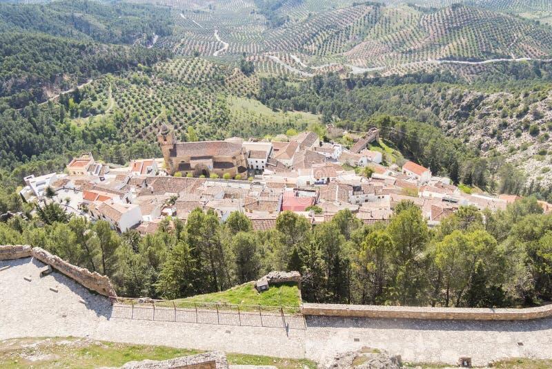 Segura de la Sierra village, Cazorla and Segura sierra, Jaen, Sp. Ain stock photo