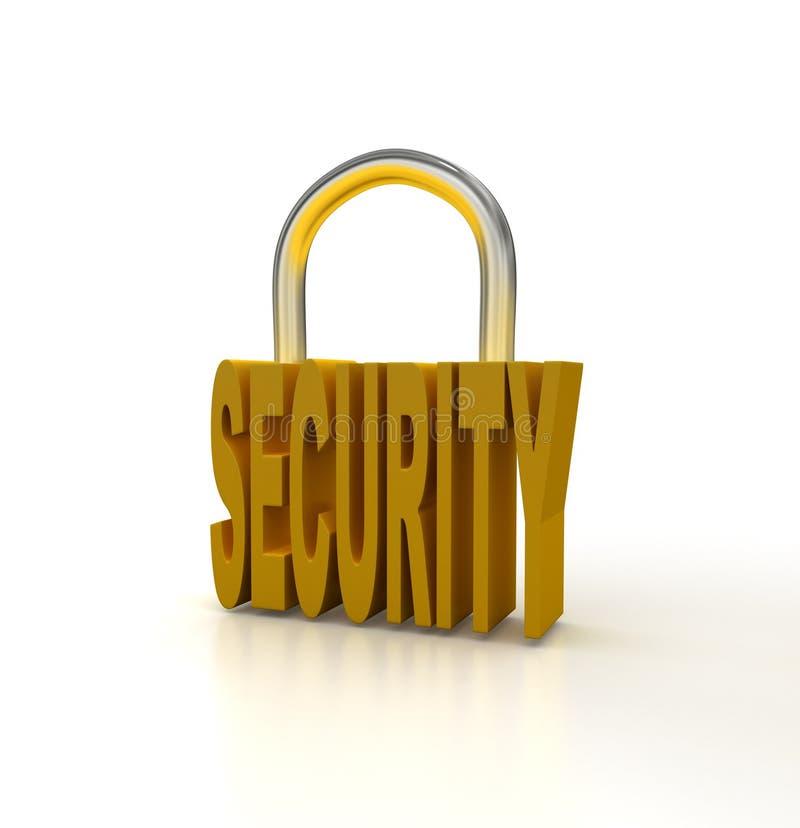 Segurança ilustração do vetor