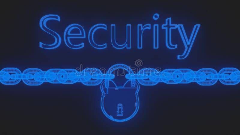 segurança ilustração royalty free