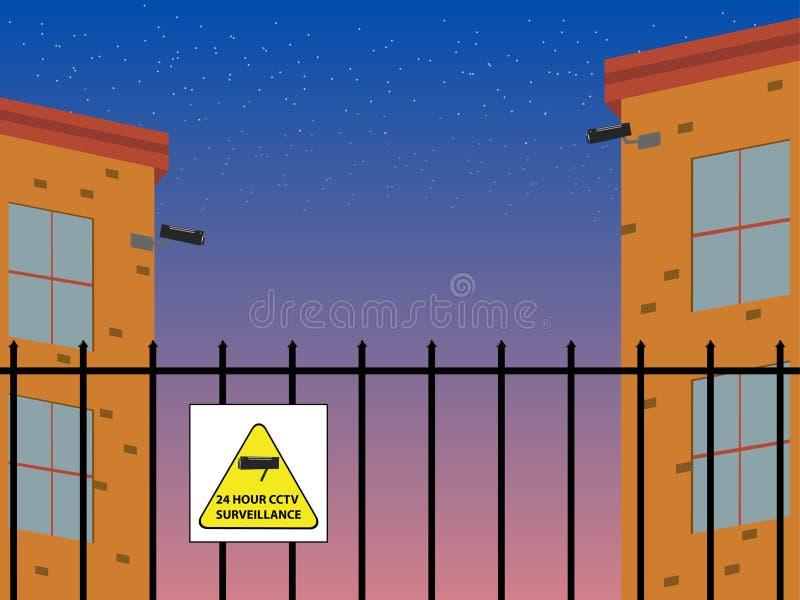 Segurança. ilustração do vetor