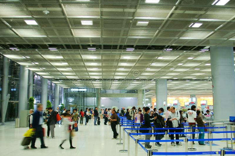 Segurança aeroportuária fotos de stock