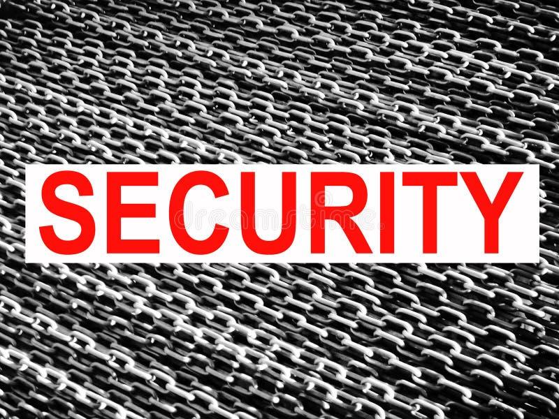 Segurança! - Conceito de nível elevado da proteção fotos de stock