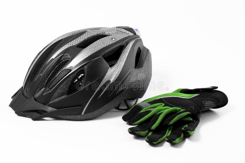 Segurança da bicicleta fotografia de stock