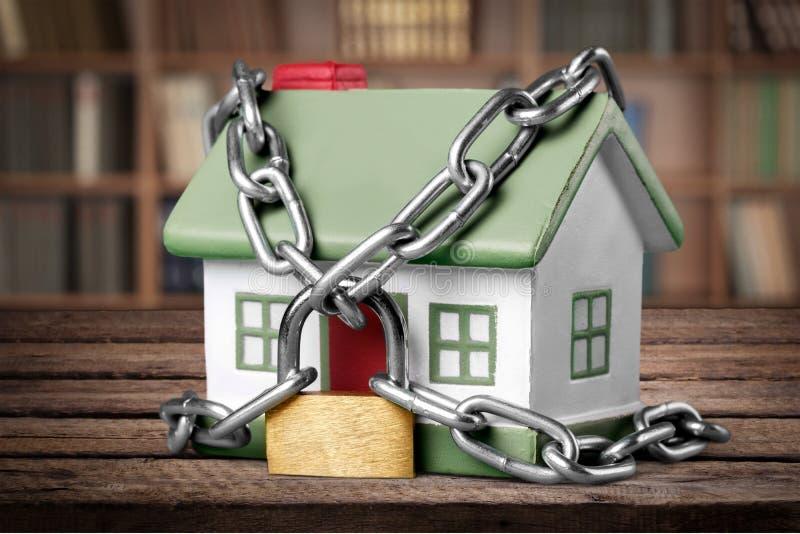 Segurança da casa imagens de stock royalty free