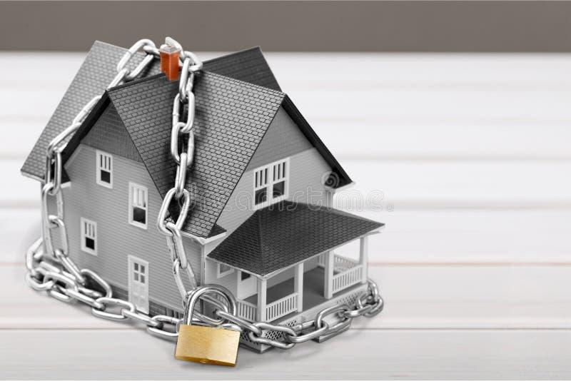 Segurança da casa foto de stock