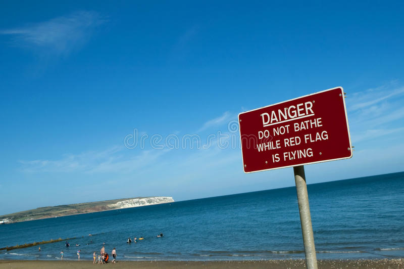 Segurança da praia foto de stock royalty free