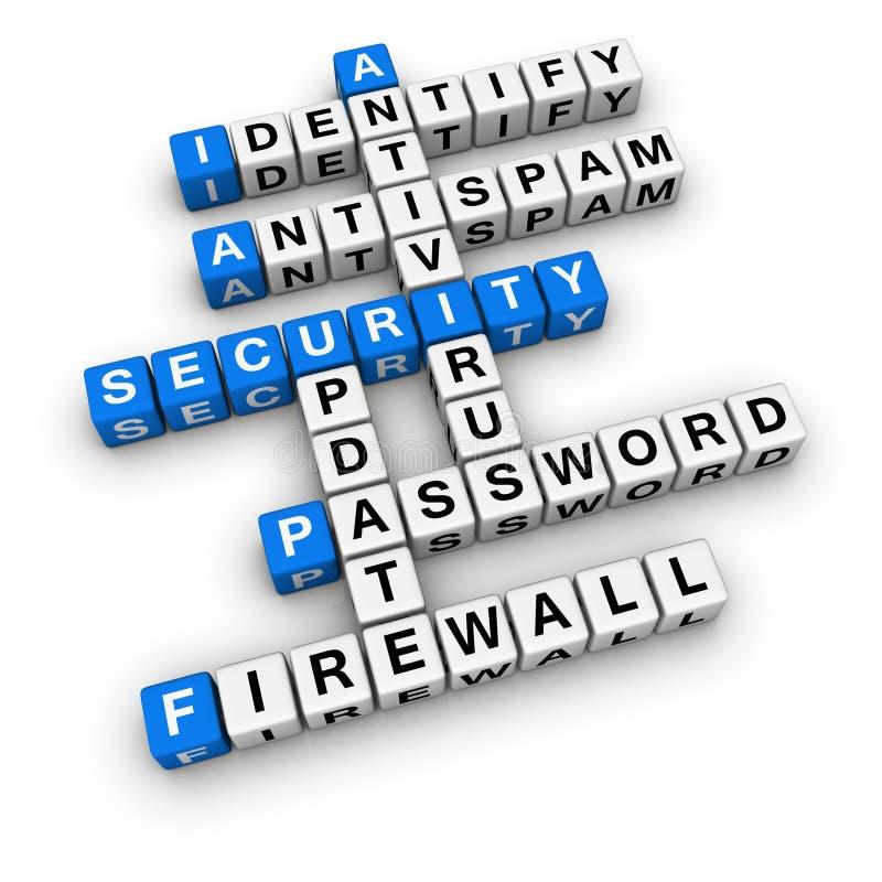 Segurança de computador ilustração stock
