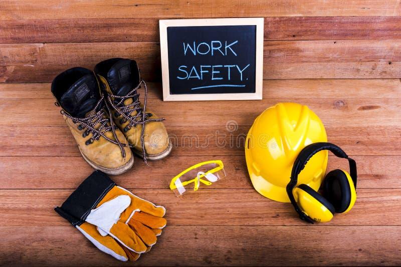 Segurança de construção padrão foto de stock