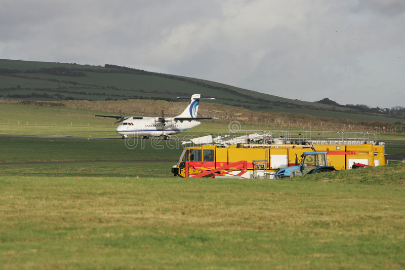 Segurança do aeroporto foto de stock