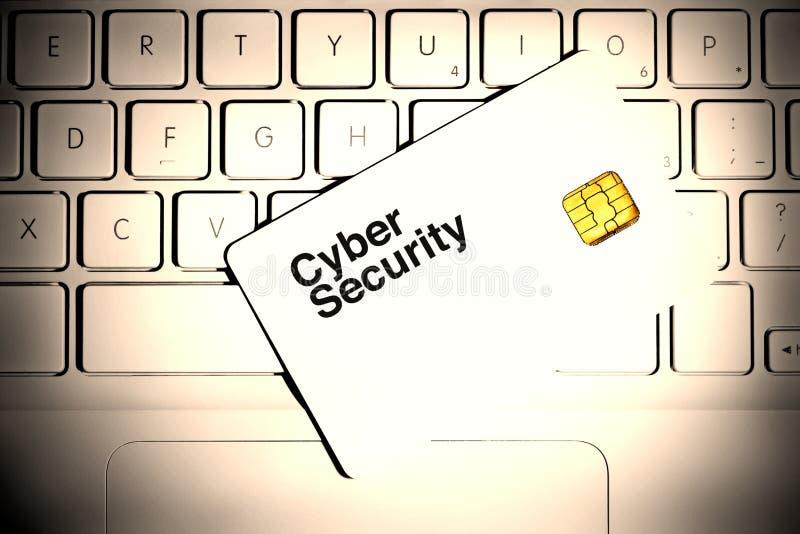 Segurança do Cyber fotos de stock