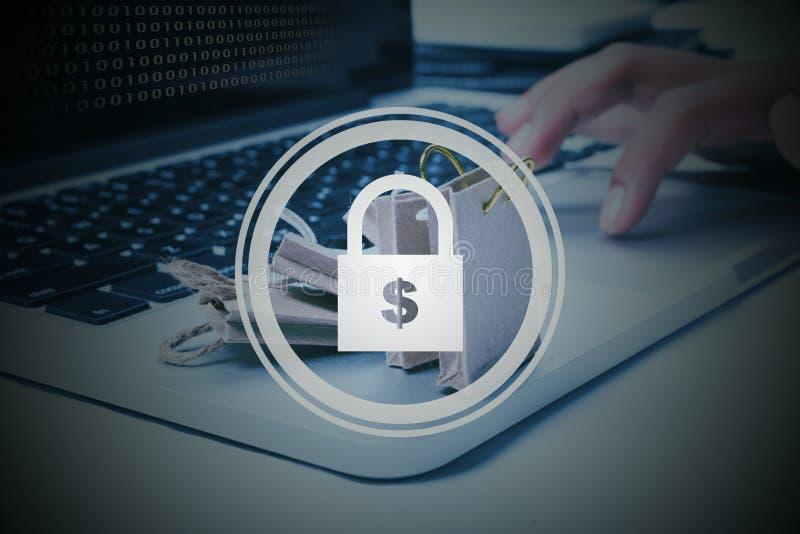 Segurança do Cyber foto de stock