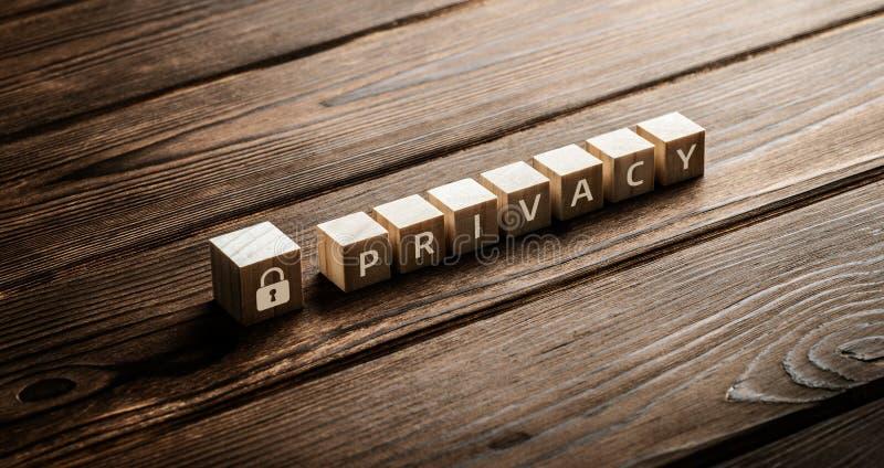 Segurança do Cyber da segurança da proteção de dados da política de privacidade imagem de stock royalty free