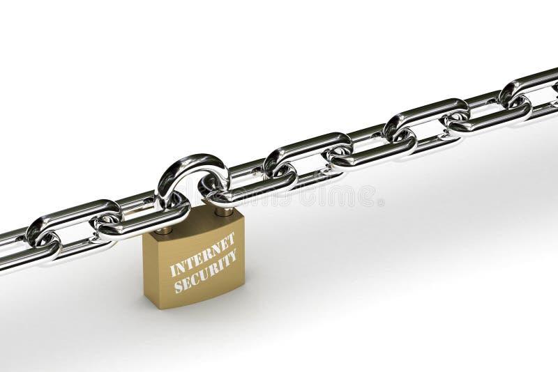 Segurança do Internet fotos de stock royalty free
