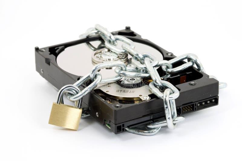 Segurança dos dados foto de stock