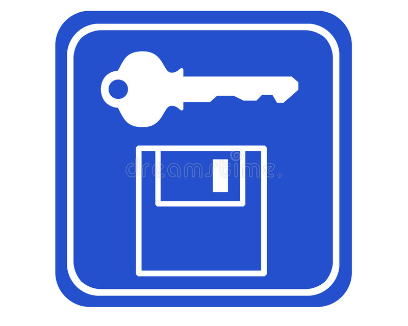 Download Segurança dos dados ilustração stock. Ilustração de passagem - 543516