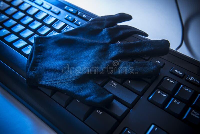Segurança e fraude do Internet imagens de stock