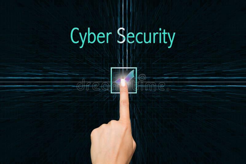 Seguridad cibernética imagen de archivo