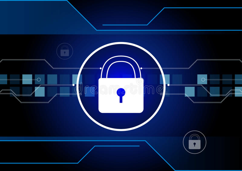 Seguridad cibernética libre illustration