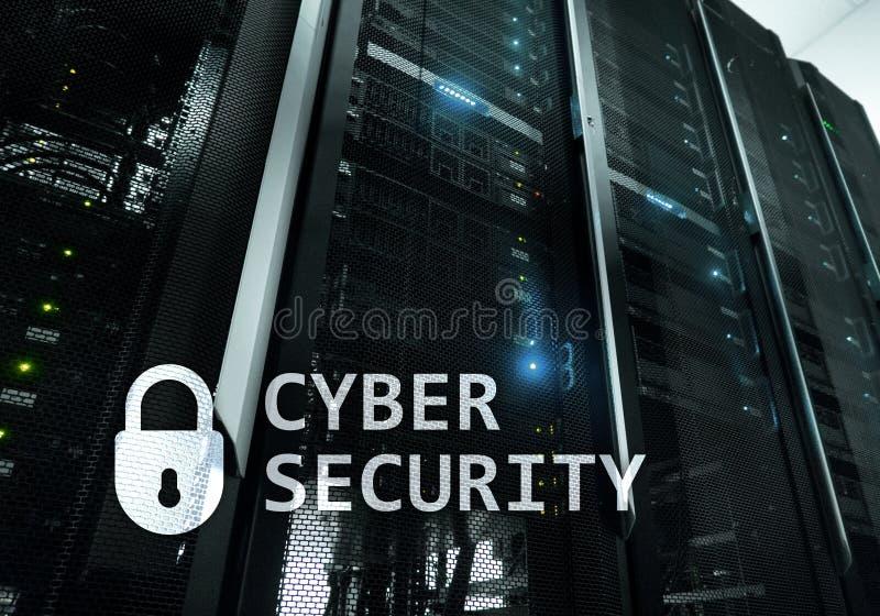 Seguridad cibernética, protección de datos, privacidad de la información Concepto de Internet y de la tecnología