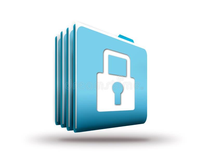 Download Seguridad de datos stock de ilustración. Ilustración de archivos - 42428900