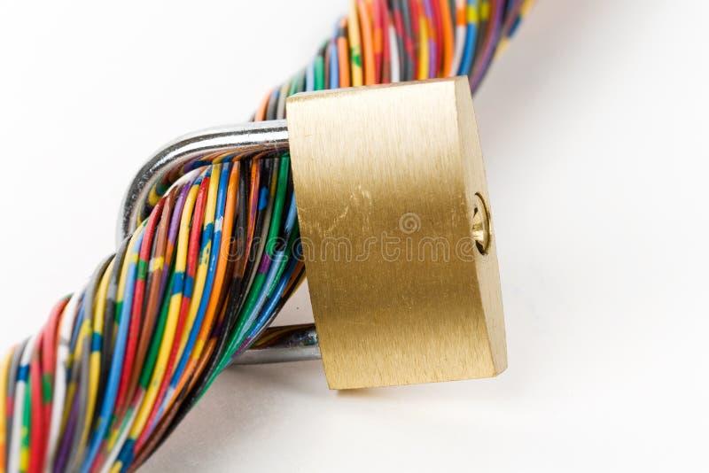 Seguridad de información fotos de archivo