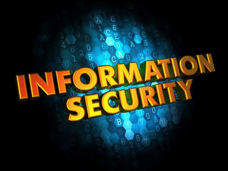 Seguridad de información en los antecedentes de Digitaces. fotografía de archivo libre de regalías