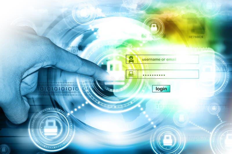 Seguridad de Internet fotos de archivo libres de regalías