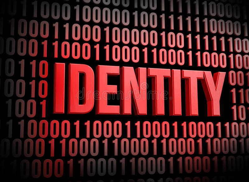 Seguridad de la identidad libre illustration