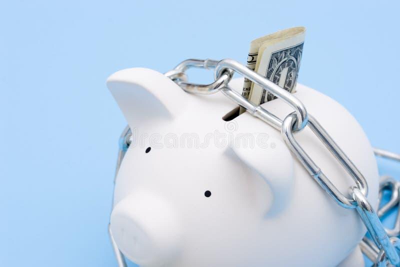 Seguridad de la inversión de los ahorros fotografía de archivo