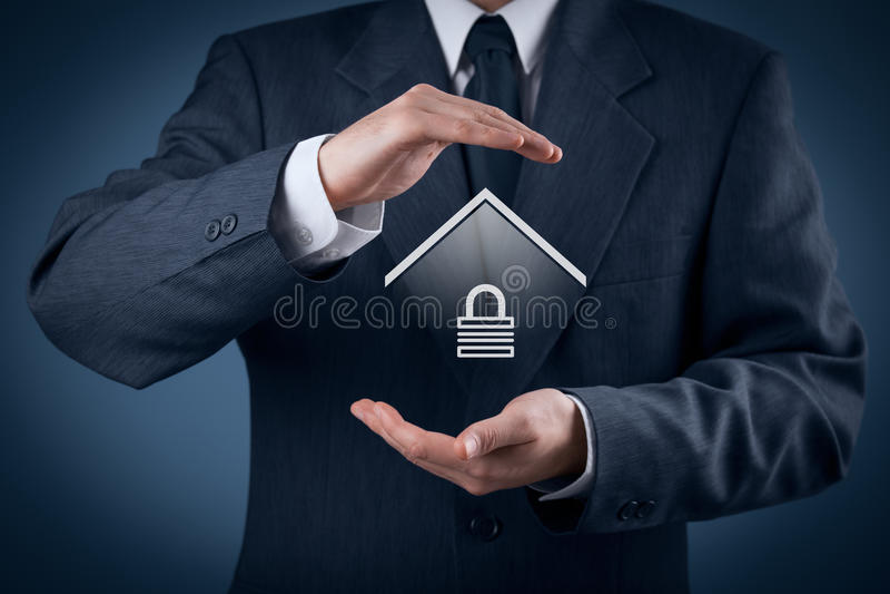Seguridad de la propiedad fotografía de archivo libre de regalías