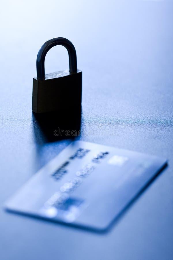 Seguridad de la tarjeta de crédito imagen de archivo libre de regalías