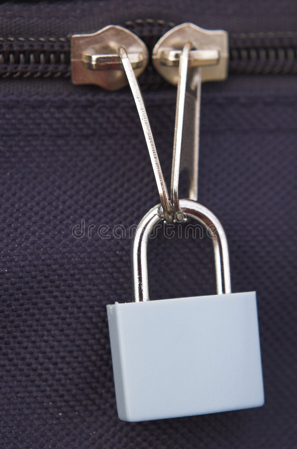 Seguridad del bolso fotos de archivo