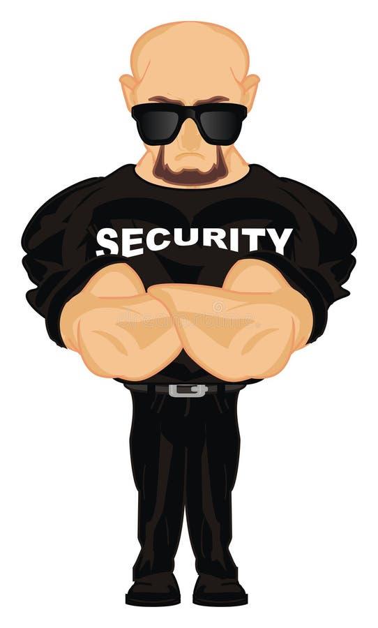 Seguridad en gafas de sol libre illustration