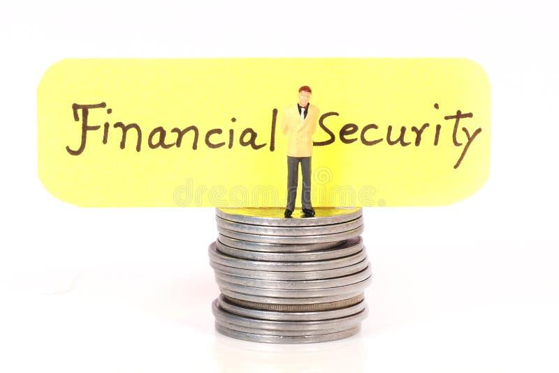 Seguridad financiera imagen de archivo libre de regalías