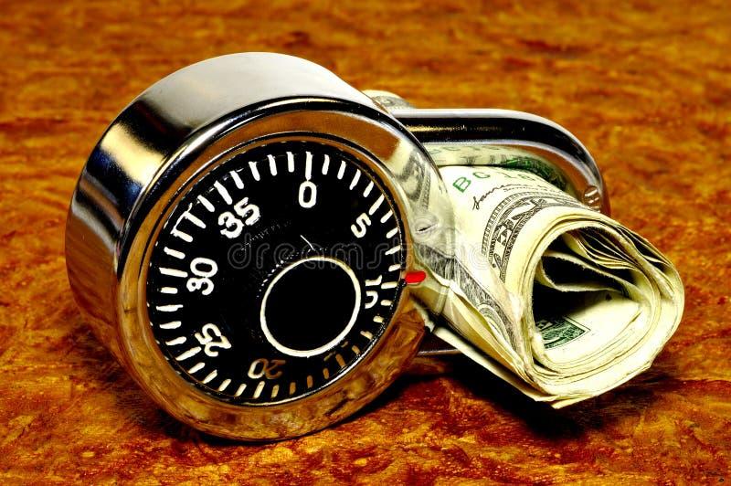Seguridad financiera 2 imagen de archivo libre de regalías