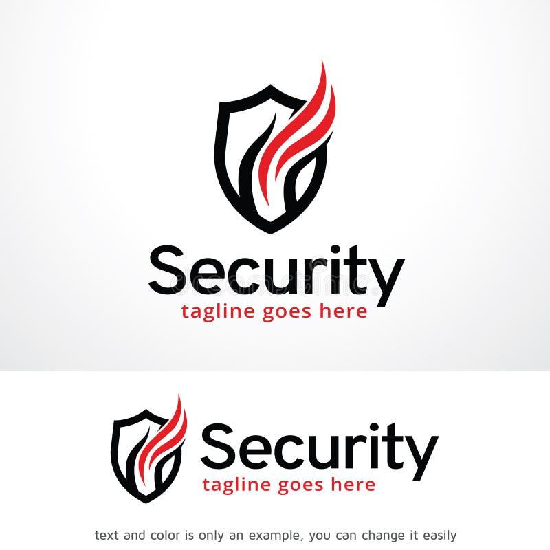 Seguridad Logo Template Design Vector, emblema, concepto de diseño, símbolo creativo, icono del escudo libre illustration