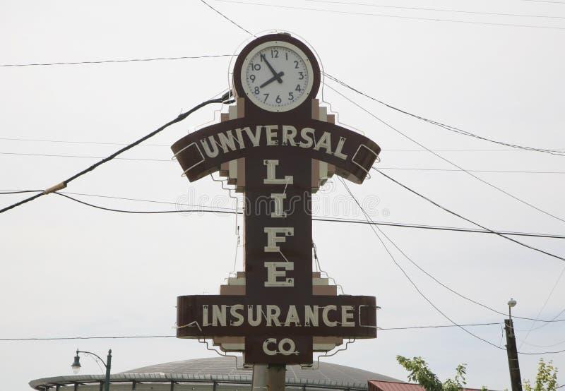 Seguro de vida universal fotografía de archivo libre de regalías