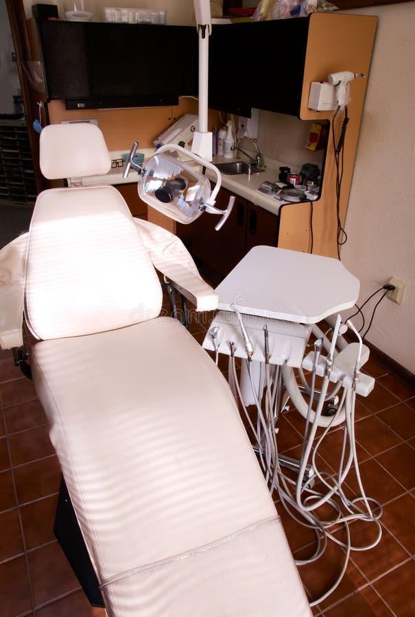 Seguro dental del dentista de la silla imágenes de archivo libres de regalías