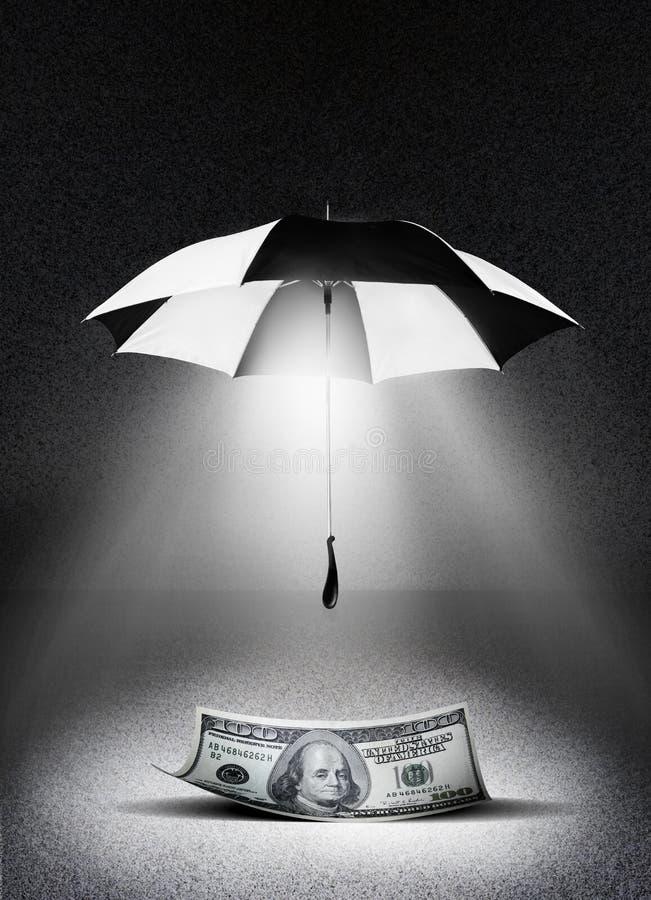 Seguro do dinheiro ilustração do vetor