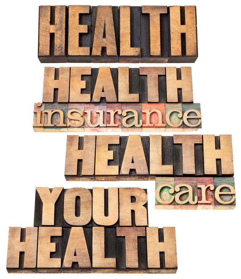 Seguro e cuidado de saúde foto de stock royalty free