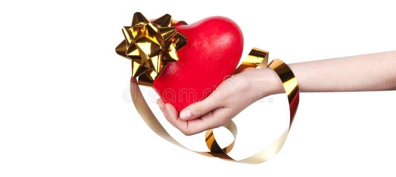 Seguro médico o concepto del amor imagen de archivo libre de regalías