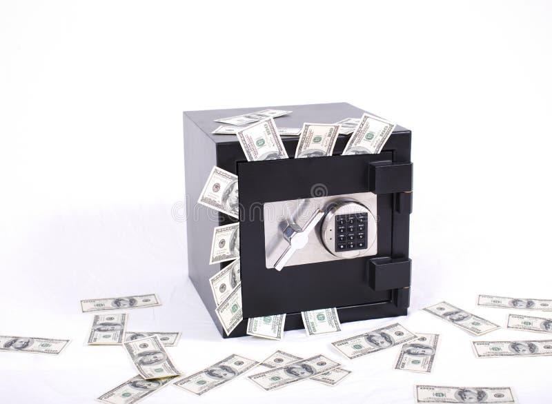 Seguro por completo del dinero imagen de archivo libre de regalías